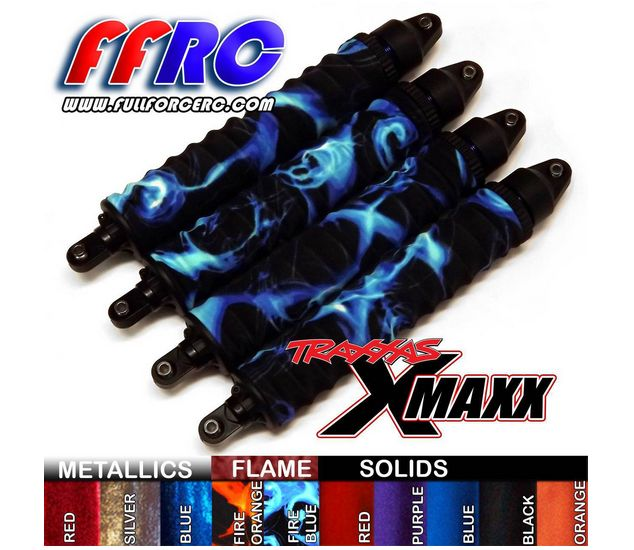 Protections amortisseurs pour X-maxx ? Protection